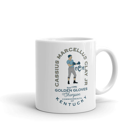 COLUMBIA GYM & CASSIUS CLAY Mug