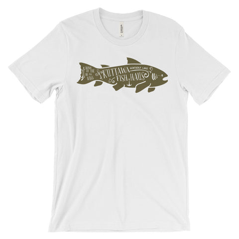 KUTTAWA FISH HAUS Unisex short sleeve t-shirt