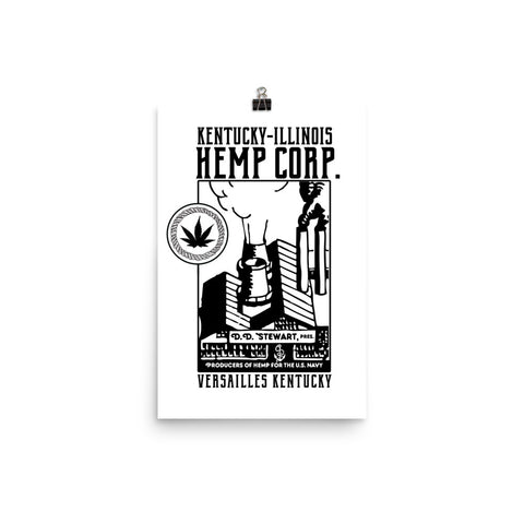 KENTUCKY-ILLINOIS HEMP CORP. Poster