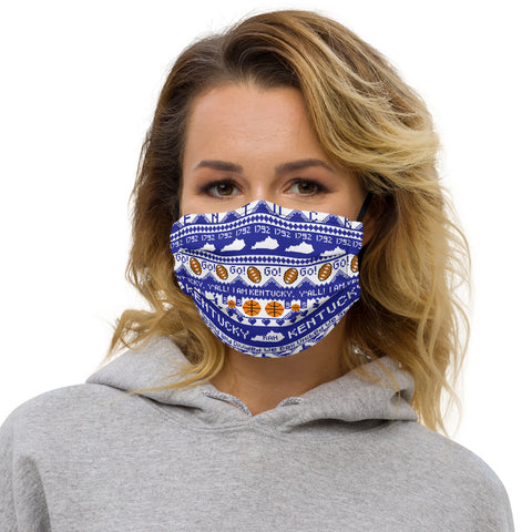 Kentucky Ugly Christmas Premium face mask