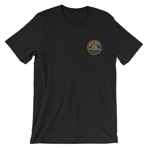 VINTAGE BOURBON: AFTER A STORM COMES A CALM Unisex short sleeve t-shirt