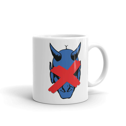 NO BLUE DEVILS ALLOWED! Mug made in the USA