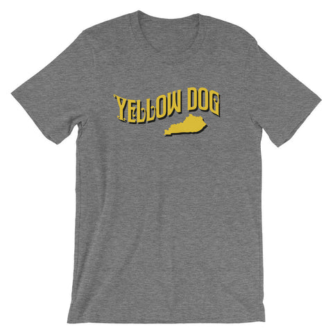 YELLOW DOG Unisex short sleeve t-shirt