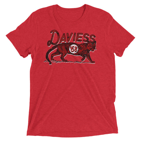 Daviess Co. Panthers Short sleeve t-shirt