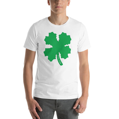 Kentucky State 4-leaf clover Short-Sleeve Unisex T-Shirt