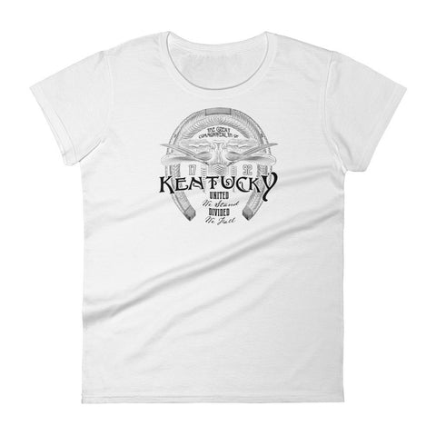 VICTORIAN HORSESHOE Women's short sleeve t-shirt