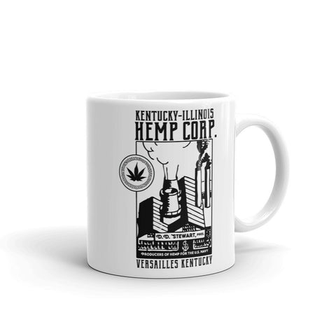 KENTUCKY-ILLINOIS HEMP CORP. Mug made in the USA