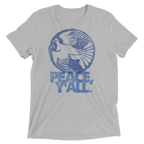 PEACE Y'ALL LETTERPRESS Short sleeve t-shirt