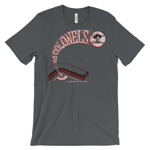 BASEBALL COLONELS Unisex short sleeve t-shirt