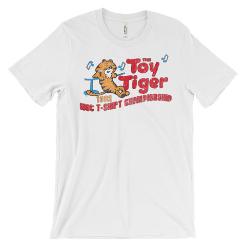 TOY TIGER Unisex short sleeve t-shirt