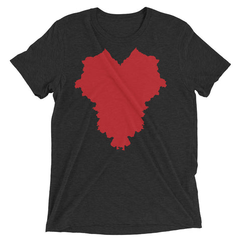 THE HEART OF AMERICA Short sleeve t-shirt
