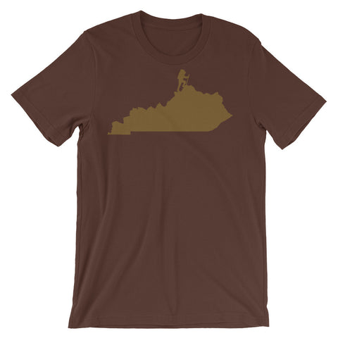 HIKE KENTUCKY Unisex short sleeve t-shirt