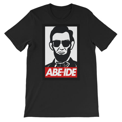 ABE LINCOLN ABIDE Short-Sleeve Unisex T-Shirt