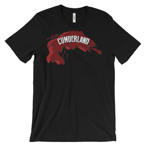 LAKE CUMBERLAND FISH Unisex short sleeve t-shirt