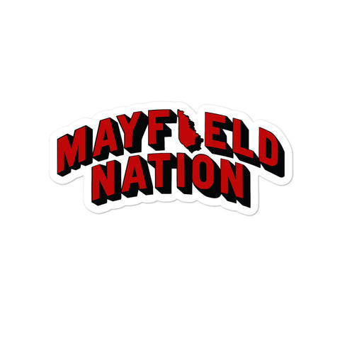 Mayfield Nation Bubble-free stickers