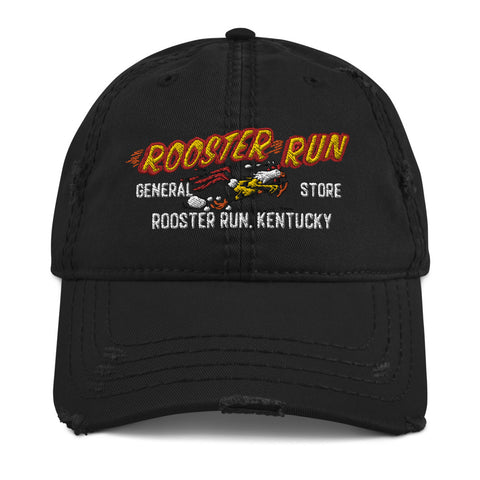 Rooster Run General Store Distressed Dad Hat