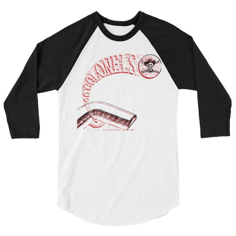 LOUISVILLE COLONELS STADIUM SHIRT 3/4 sleeve raglan shirt