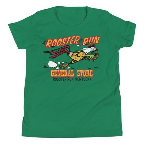 Rooster Run General Store Youth Short Sleeve T-Shirt