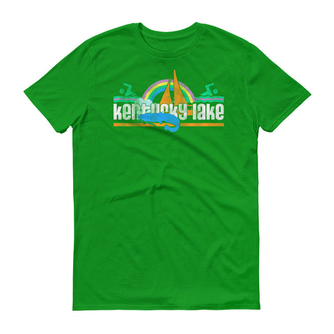 80s KENTUCKY LAKE Short sleeve t-shirt