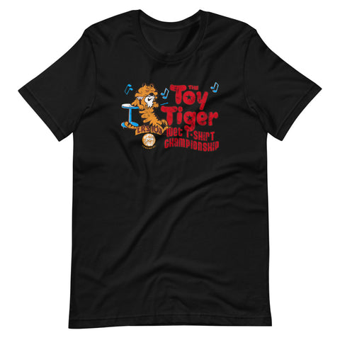 WLRS Presents the Toy Tiger Wet T-shirt Contest Short-Sleeve Unisex T-Shirt