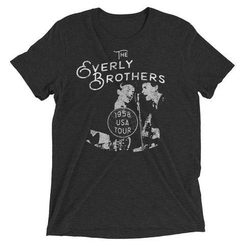 Everly Brothers 1958 USA Tour Short sleeve t-shirt