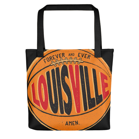 LOUISVILLE FOREVER AND EVER AMEN Tote bag