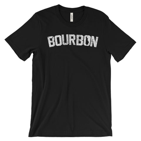 BOURBON WORD Unisex short sleeve t-shirt