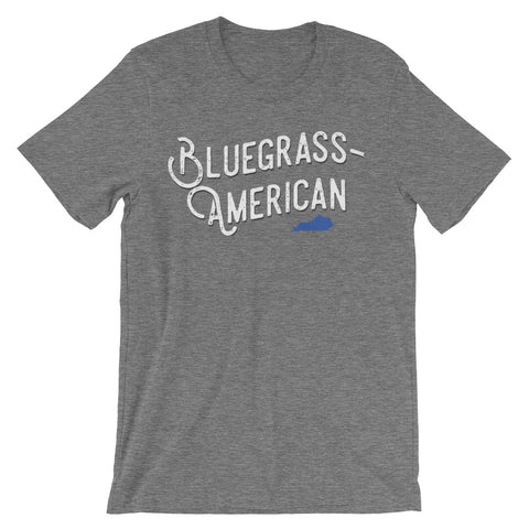 BLUEGRASS-AMERICAN Unisex short sleeve t-shirt