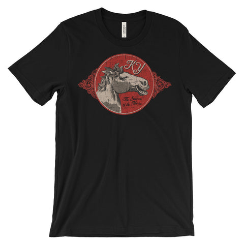 SOURCE OF THE HORSE Unisex short sleeve t-shirt