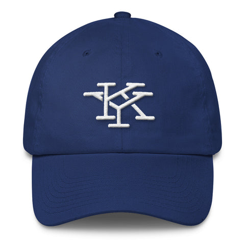 INTERLOCKING KY INITIALS (new) Cotton Cap