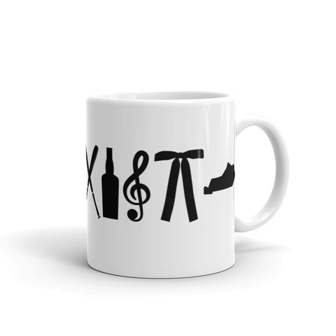 Coexist Kentucky Mug