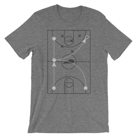 "THE GREAT ""K"" PLAY DIAGRAM Unisex short sleeve t-shirt"