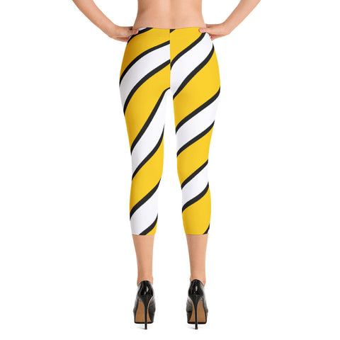 DANVILLE KENTUCKY STRIPES Capri Leggings