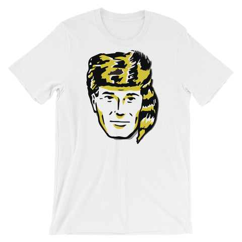 Retro Man Coonskin Cap Short-Sleeve Unisex T-Shirt