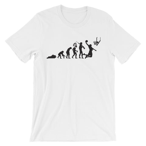 EVOLUTION OF KENTUCKY Unisex short sleeve t-shirt