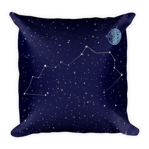 Kentucky Constellation Square Pillow