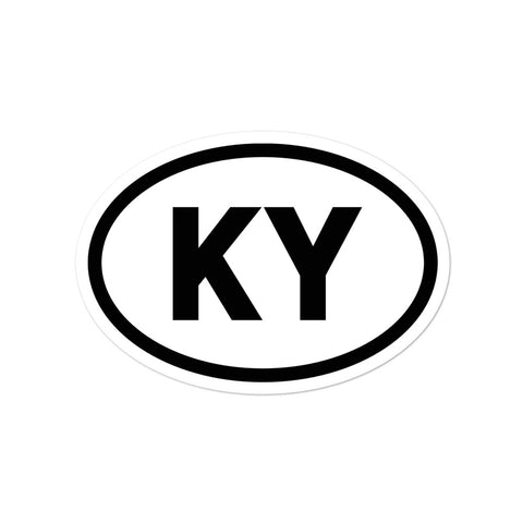 KENTUCKY OVAL Bubble-free stickers