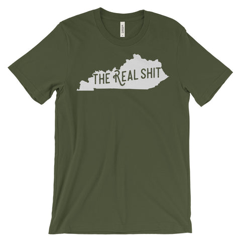 THE REAL SHIT Unisex short sleeve t-shirt