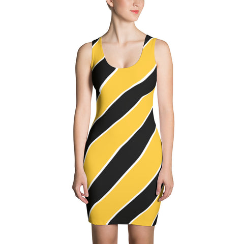 4c58a6523b Team Stripes Yellow/Gold, Black, and White Striped (#2) Sublimation