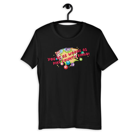 TEAM ANDY Pike County Bingo Short-Sleeve Unisex T-Shirt