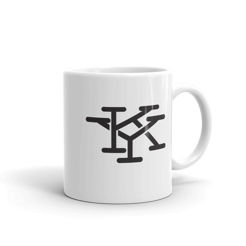 INTERLOCKING KY INITIALS (new) Mug