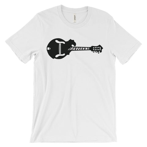 KENTUCKY MANDOLIN (black) Unisex short sleeve t-shirt