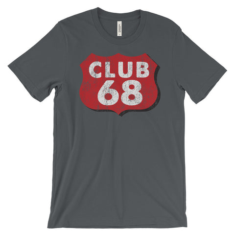 CLUB 68 Unisex short sleeve t-shirt