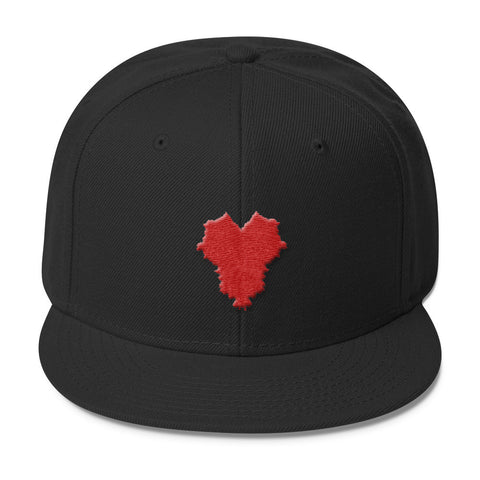 THE HEART OF AMERICA Wool Blend Snapback