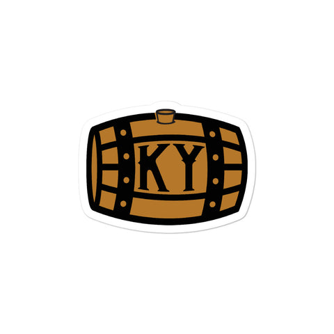Kentucky Bourbon Barrel Bubble-free stickers