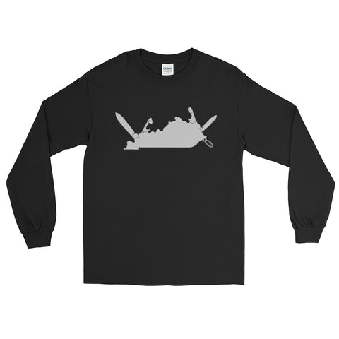 KENTUCKY ARMY KNIFE Long Sleeve T-Shirt