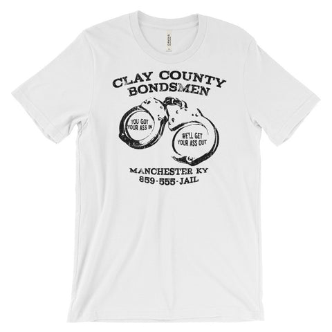 CLAY CO. BONDSMEN Unisex short sleeve t-shirt