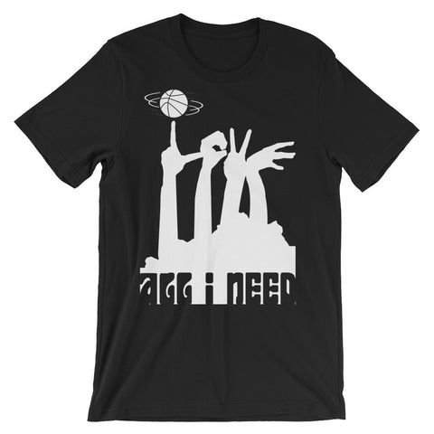 ALL I NEED IS LOVE, KENTUCKY, AND BASKETBALL! Unisex short sleeve t-shirt