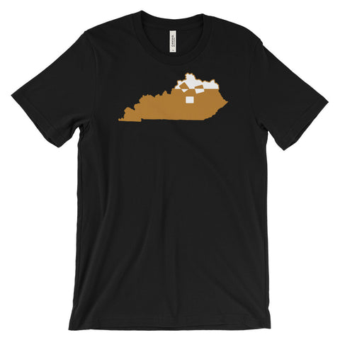 KENTUCKY KOCKTAIL 3 (bourbon) Unisex short sleeve t-shirt