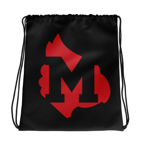 "Mayfield Cardinals ""Big M"" Drawstring bag"